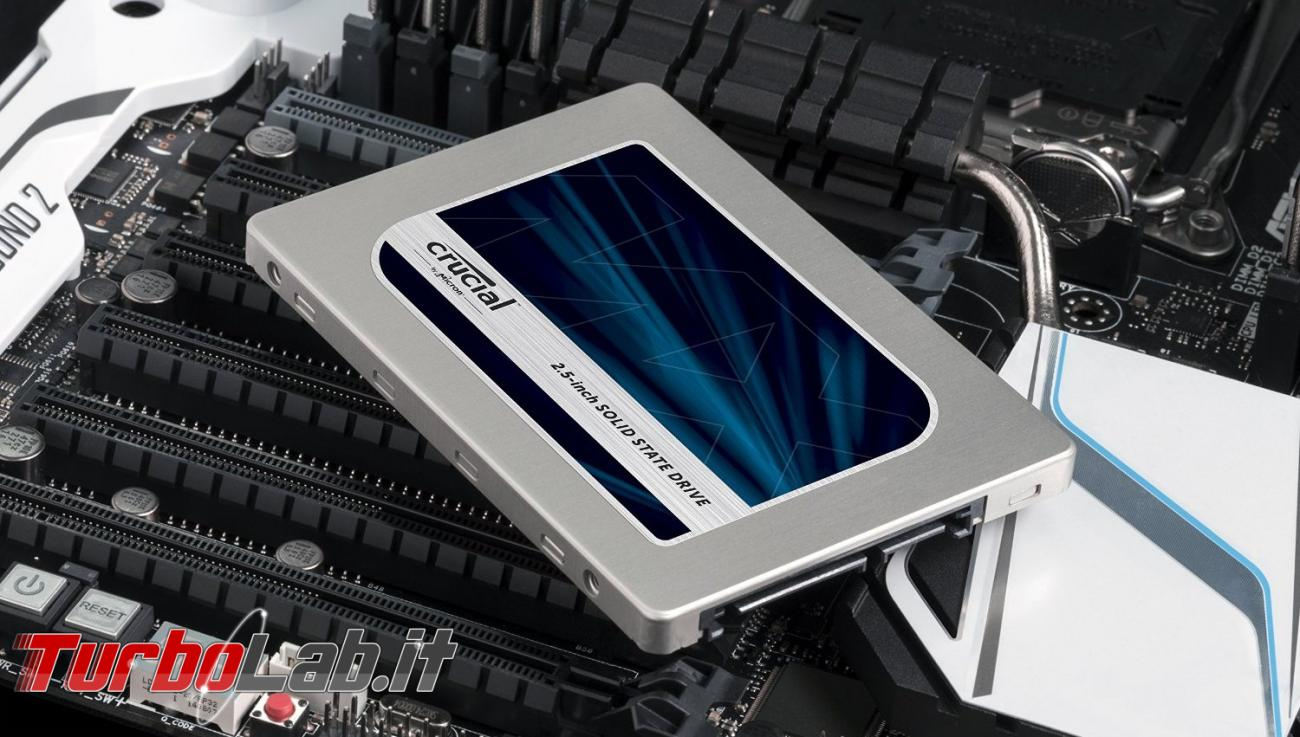 SSD lento: cosa fare quando l'SSD non è veloce come dovrebbe (aggiornamento: ottobre 2018) [TurboLab.it]