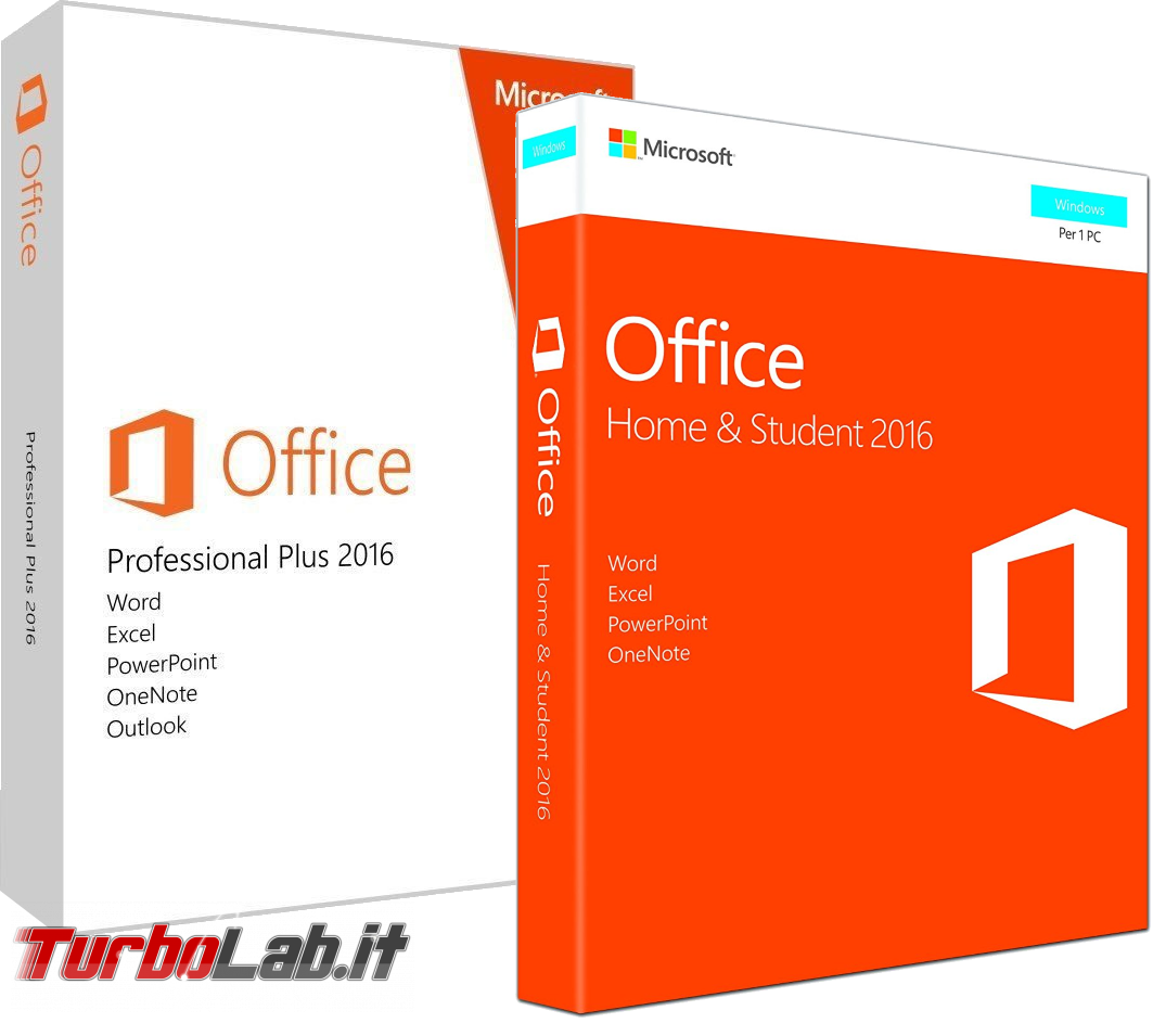 Scaricare Microsoft Office 2016 DVD/ISO in italiano: download