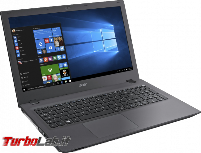 4 GB, 8 GB, 16 GB, 32 GB: quanta RAM serve PC / notebook Windows 10? - notebook Acer Aspire E5-573-33R5