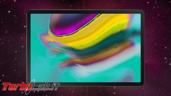 5 migliori tablet Android 2019/2020 (guida scelta, video) - Samsung Galaxy Tab S5e