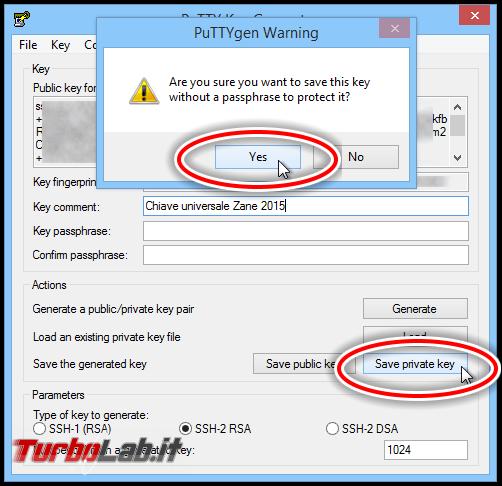 Accedere PuTTY (SSH) senza password Linux/Ubuntu/CentOS: guida autenticazione chiave asimmetrica (RSA)