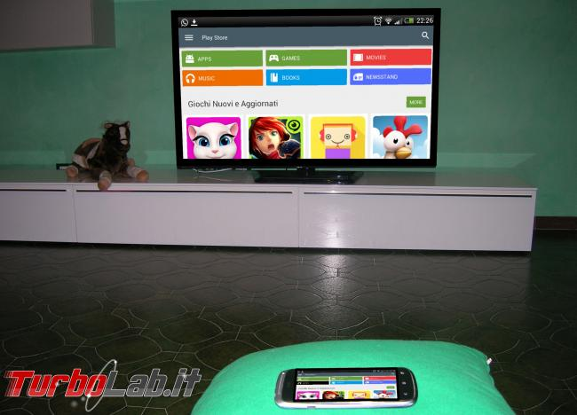 Adattatore Miracast TV: prova recensione Microsoft Wireless Display Adapter - android tv smartphone miracast