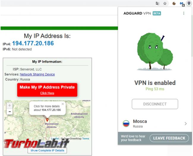 AdGuard VPN Beta protegge privacy ti consente raggiungere siti bloccati