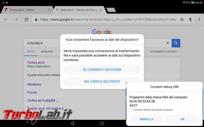 Airdroid puoi comandare dispositivo Android computer