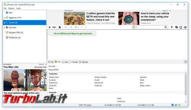 Alternative uTorrent: 5+ migliori programmi BitTorrent 2017
