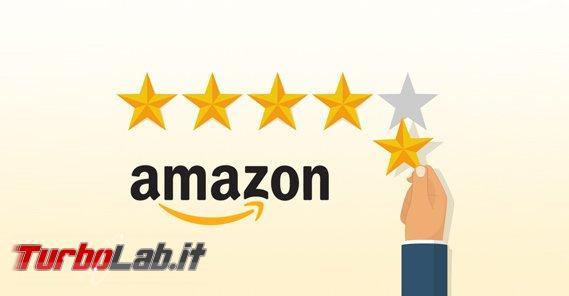 Amazon: ladri recensioni rubano stelline - Amazon-5-Star-Review-Illustration