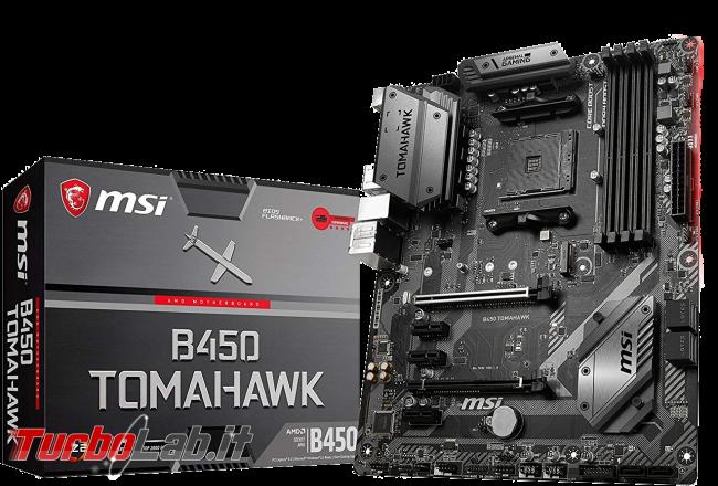 AMD Ryzen 3600 scheda madre B450: sono compatibili? - scheda madre msi b450 tomahawk