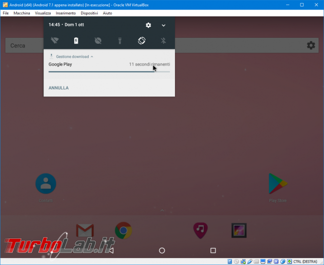 Android 7 Nougat VirtualBox: Guida Definitiva - come installare configurare Android macchina virtuale (VM)