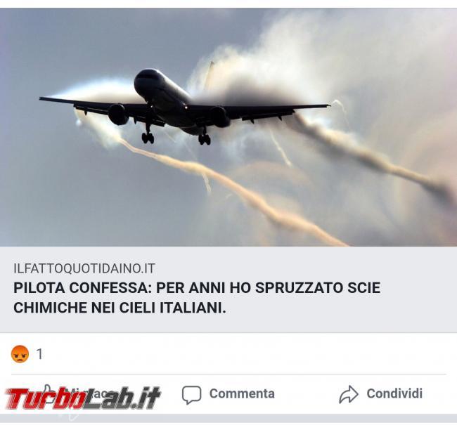 anni ho spruzzato scie chimiche cieli italiani: torna bufala 2016 - Screenshot_20200720-143326