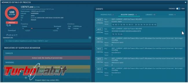 any.run è computer virtuale online testare programmi ... malware