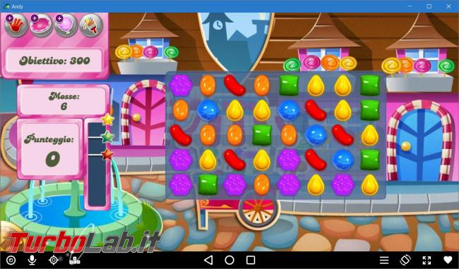App giochi Android PC: guida Andy, emulatore Android Windows