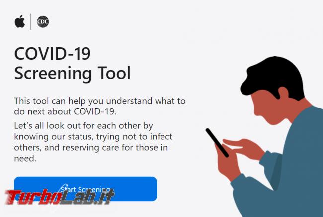 Apple realizza strumento auto-diagnosi coronavirus - FrShot_1585384572