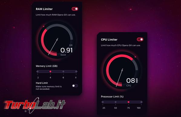"""Arriva Opera GX, primo """"gaming browser"""" - Annotazione 2019-06-12 075026"""