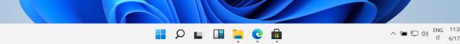 Aspettando Windows 11: Grande Guida - Data d'uscita tutte novità successore Windows 10 (video) - Windows 11 taskbar