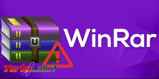 Attenzione: bug WinRAR attivamente sfruttato installare malware