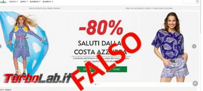 Attenzione! Falso sito shopping online si spaccia Benetton - 105499375_1606692236159118_488942672896532967_n