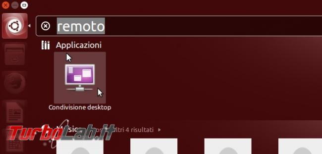 Attivare VNC controllare Ubuntu remoto