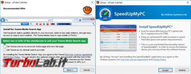 aTube Catcher scarica converte video Web
