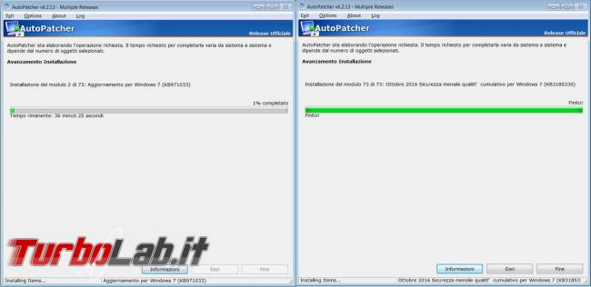 AutoPatcher scaricatore aggiornamenti Windows 7 Windows 8.1
