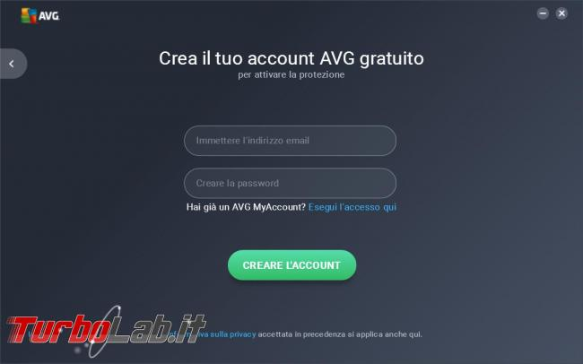 AVG antivirus free 2017 messo prova TurboLab.it