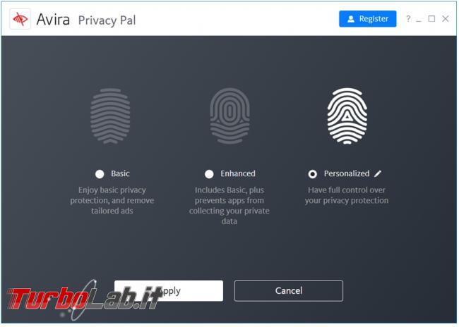 Avira Privacy Pal ripulisce computer tutte tracce digitali
