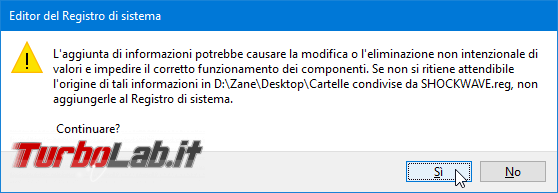 Backup cartelle condivise rete locale (LAN) Windows 10: come fare?