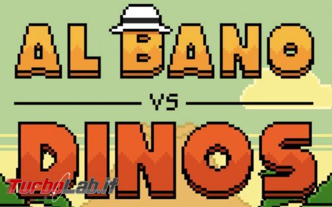 Bano VS Dinos: spopola videogioco tratto gaffe cantante