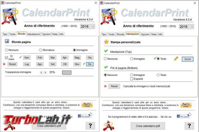 Bastano dodici immagini pochi clic creare calendario personalizzato