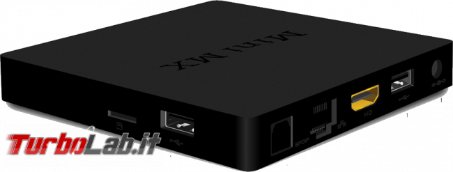 Beelink Mini MX è Media Center Android meno 40 € (prova recensione) - beelink mini mx ports