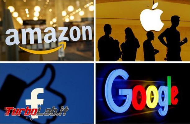 Big Tech, USA avviano 'indagine antitrust - Annotazione 2019-07-24 165404