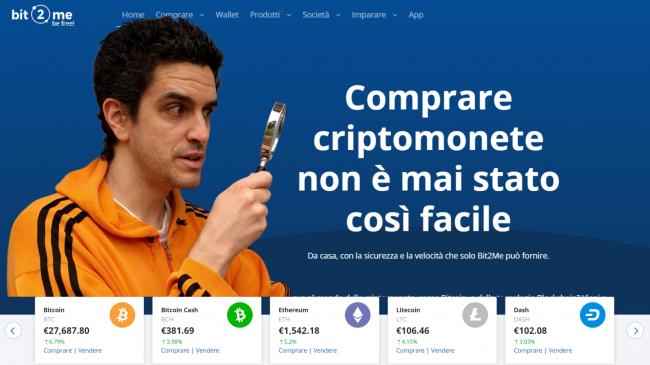 Bit2Me: come comprare Bitcoin altre criptovalute 2021 (exchange europeo facile usare, video)