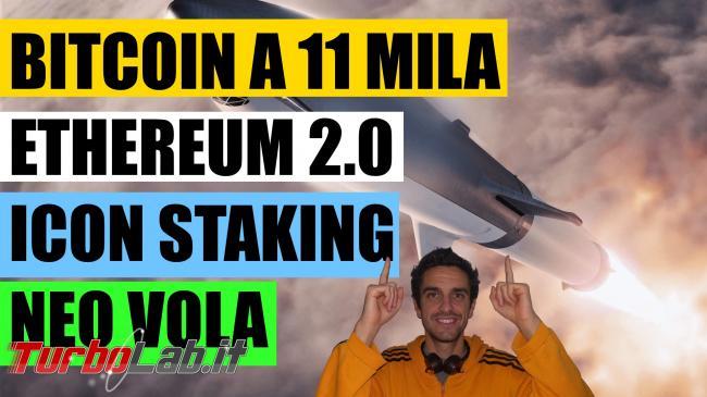 Bitcoin 11 mila, Ethereum vola. È momento comprare Alt?