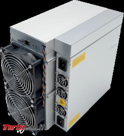 Bitcoin: quanto costa sferrare attacco 51%? - Antminer S19 Pro 110THs