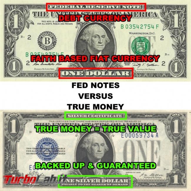 Bitcoin è truffa, Ponzi oppure rivoluzione denaro? (video) - one silver dollar