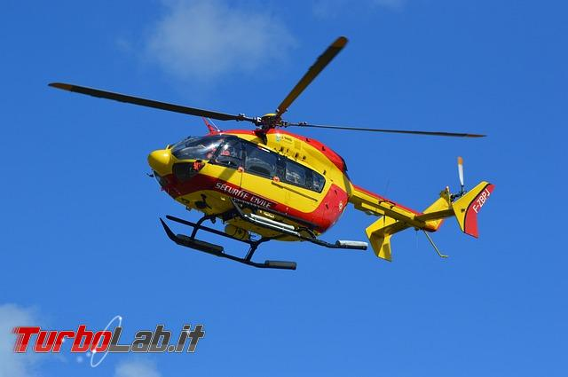 bufala disinfestazione elicotteri - protezione-civile-elicottero