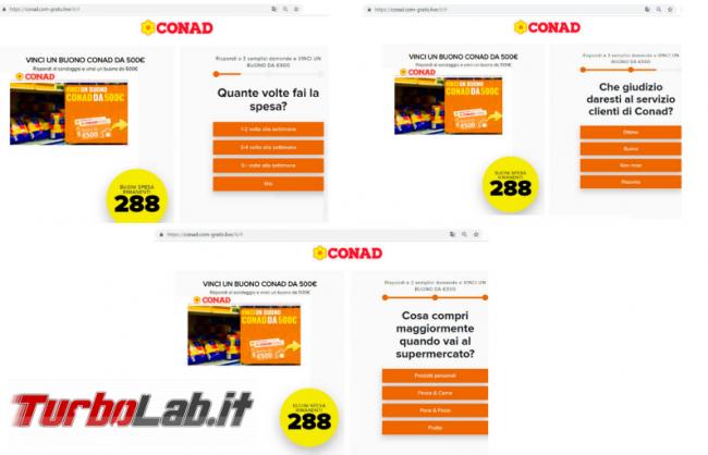 """Buoni Conad, Alitalia Carrefour: truffa """"Lotsy"""" gira social - Annotazione 2019-08-05 090606"""
