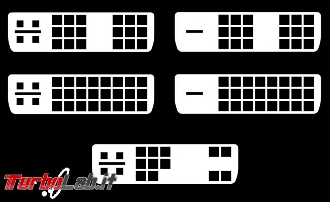 Cavo adattatore USB Type-C DVI: come collegare nuovo portatile vecchio schermo TV