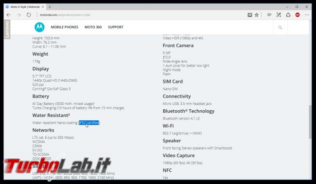 centro assistenza Motorola non onora garanzia: esperienza cliente tradito - moto x style sito ip52