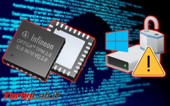 Chip Trusted Platform Module (TPM): come scoprire se PC notebook ce ha (Windows 10)