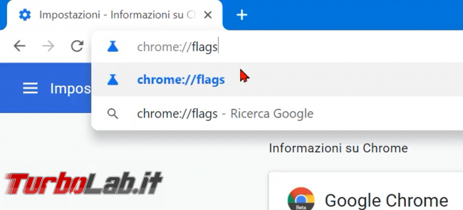 Chrome: come attivare subito anteprima tab (hover card) (video)