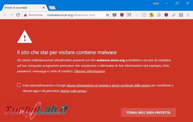 """Chrome segnala sito """"Non sicuro"""": è davvero pericoloso (virus/malware)? Come risolvere """" connessione questo sito non è protetta""""?"""