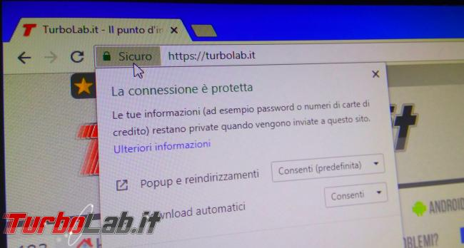 """Chrome segnala sito """"Non sicuro"""": è davvero pericoloso (virus/malware)? Come risolvere """" connessione questo sito non è protetta""""? - IMG_20180724_194707"""