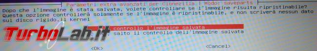 Clona sistema operativo hard disk Clonezilla