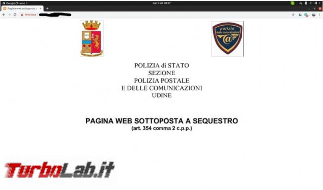 Clonato sito Poste Italiane - FrShot_1569420293