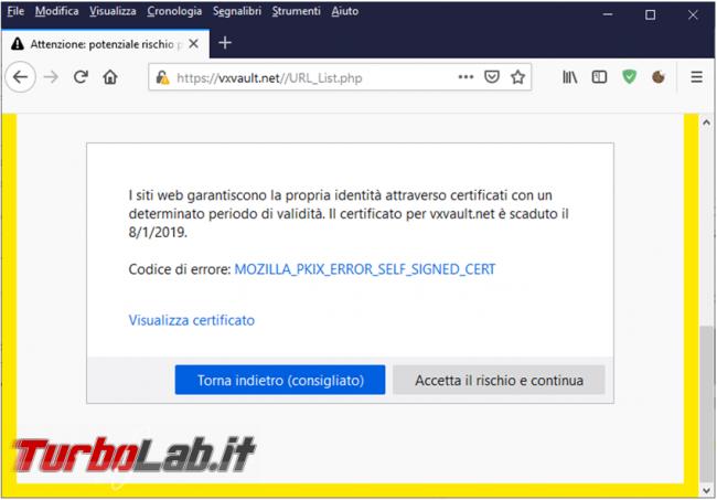 Come abilitare Firefox bloccare siti http reindirizzarli https, quando disponibile, l'estensione https everywhere