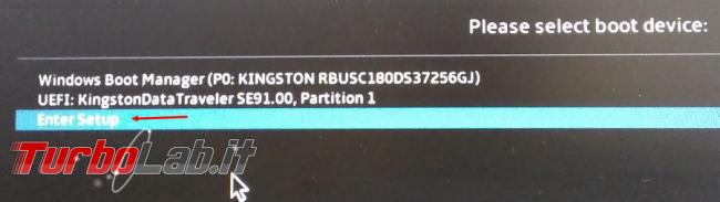 Come aggiornare BIOS UEFI Asus Vivobook X540MA