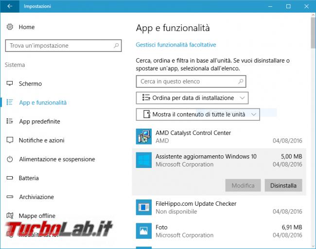 Come aggiornare subito Windows 10 21H1 Aggiornamento Maggio 2021, quando non si trova Windows Update