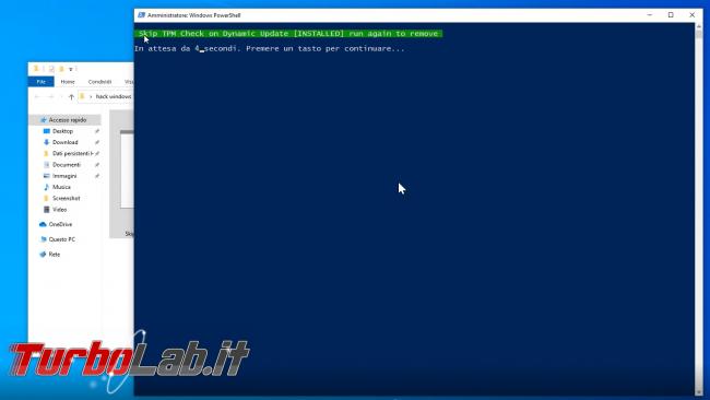 Come aggiornare Windows 11 PC Windows 10 non-compatibile (risolvere errore Questo PC non soddisfa attualmente requisiti sistema Windows 11) (video) - sshot_ext_1633255560