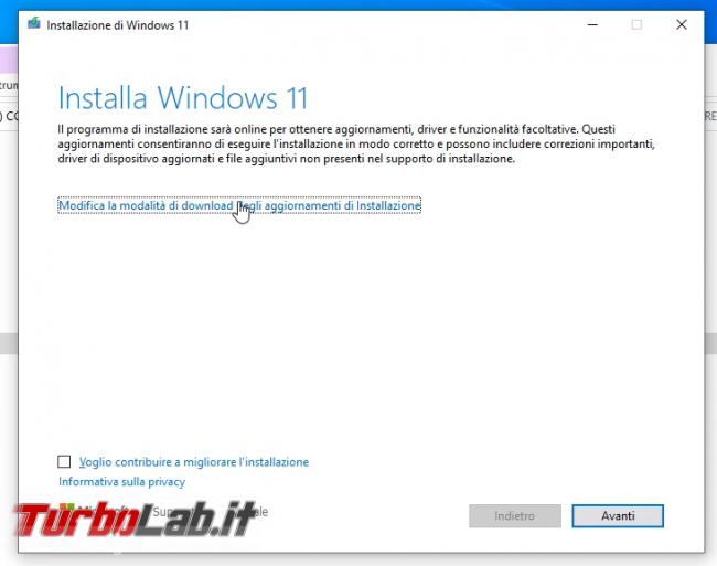 Come aggiornare Windows 11 PC Windows 10 non-compatibile (risolvere errore Questo PC non soddisfa attualmente requisiti sistema Windows 11) (video) - sshot_ext_1633256660