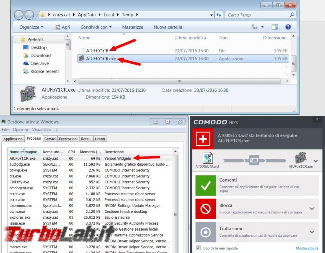 Come agisce virus cryptolocker variante Locky